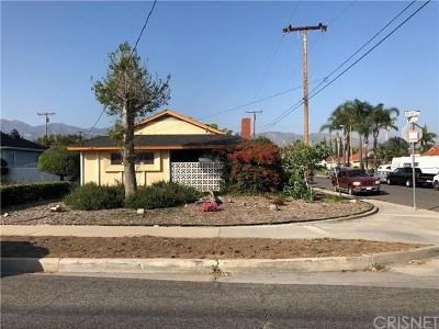 San Fernando Single Family Home For Sale: 605 N Meyer Street