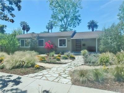 Valley Village Single Family Home For Sale: 12364 Emelita Street