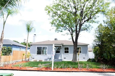 North Hollywood Multi Family Home Active Under Contract: 7306 Camellia Avenue