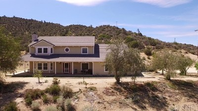 Acton Single Family Home For Sale: 33270 Oracle Hill Road