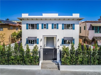 Hollywood Hills Multi Family Home For Sale: 1960 Argyle Avenue