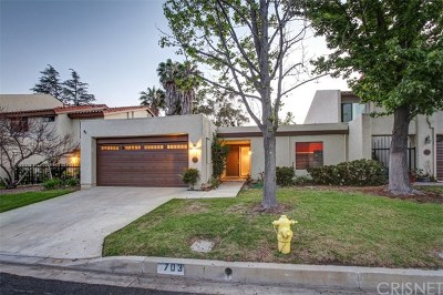Thousand Oaks Condo/Townhouse For Sale: 703 Shadow Lake Drive