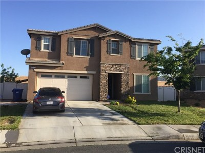Palmdale Single Family Home For Sale: 1188 Erwin Drive