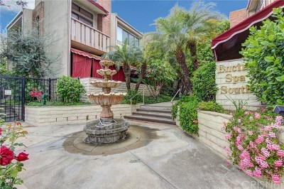 Encino Condo/Townhouse For Sale: 5255 White Oak Avenue #1