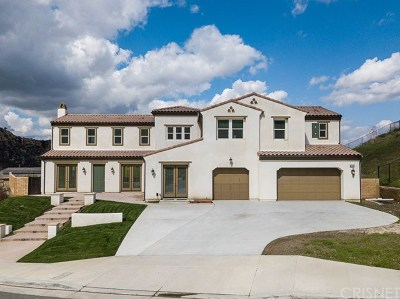 Stevenson Ranch Single Family Home For Sale: 24958 Old Stone Way