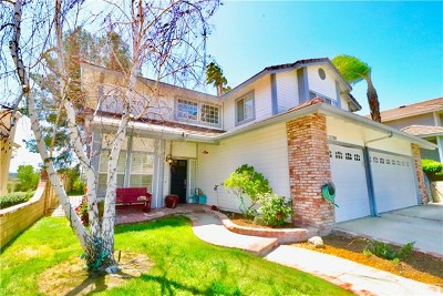 Saugus Single Family Home For Sale: 21708 Agajanian Lane