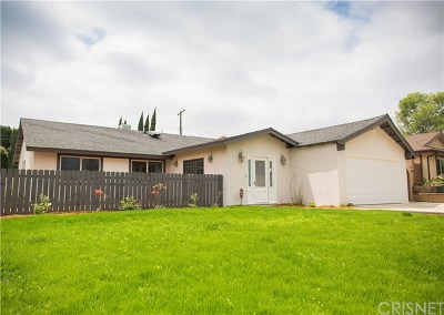 Sylmar Single Family Home Active Under Contract: 13075 Kismet Avenue