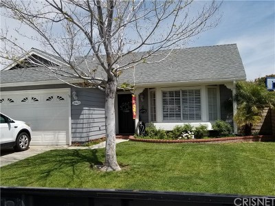 Castaic Single Family Home Active Under Contract: 28471 Victoria Road
