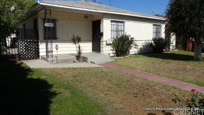 North Hollywood Single Family Home Active Under Contract: 5909 Vineland Avenue