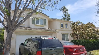 Castaic Single Family Home For Sale: 30454 Barcelona Road
