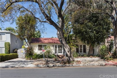 Hollywood Hills Single Family Home For Sale: 1541 N Stanley Avenue