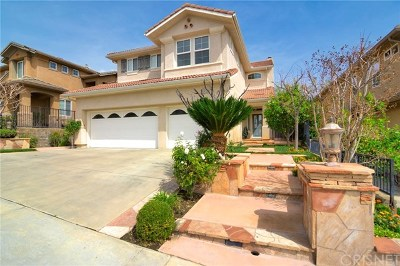 Porter Ranch Single Family Home For Sale: 20831 Vercelli Way