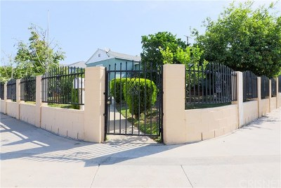 Panorama City Single Family Home For Sale: 8102 Burnet Avenue