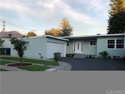 Van Nuys Single Family Home For Sale: 6500 Aqueduct Avenue