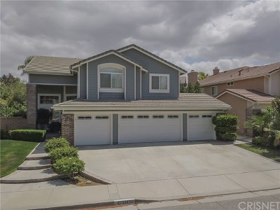 Valencia Single Family Home For Sale: 27588 Cunningham Drive