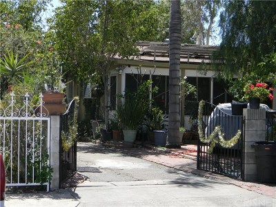 North Hollywood Single Family Home For Sale: 11744 Welby Way