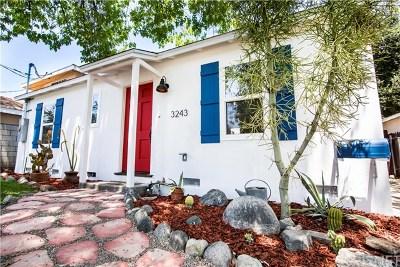 Pasadena Single Family Home For Sale: 3243 Del Vina Street