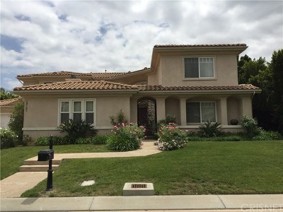 Chatsworth Single Family Home For Sale: 19762 Trammell Lane