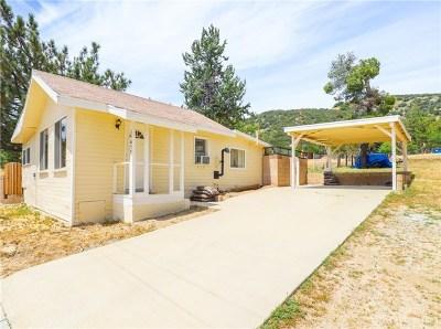 Lake Hughes Single Family Home For Sale: 17677 Manzanita