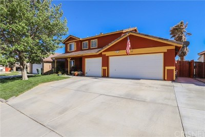 Rosamond Single Family Home For Sale: 3624 Jasmine Avenue