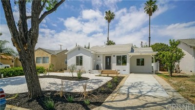 Lake Balboa Single Family Home For Sale: 16755 Covello Street