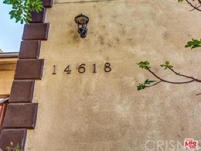 Van Nuys Condo/Townhouse For Sale: 14618 Gilmore Street #3