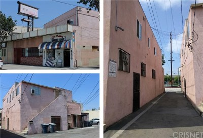 Los Angeles Multi Family Home For Sale: 9616 Long Beach Boulevard