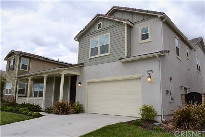 Saugus Single Family Home For Sale: 22389 Copper Mountain Court