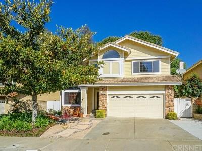 Saugus Single Family Home For Sale: 28115 Kenton Lane