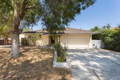 Lake Balboa Single Family Home For Sale: 7608 Amestoy Avenue