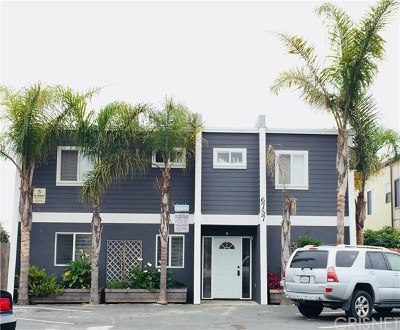 Santa Barbara County Multi Family Home For Sale: 6757 Del Playa Drive