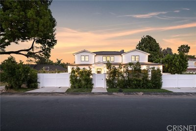 Toluca Lake CA Single Family Home For Sale: $4,495,000