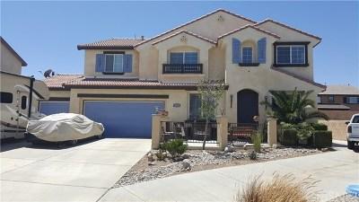 Quartz Hill Single Family Home For Sale: 42341 Highland Court