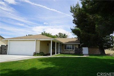 Quartz Hill Single Family Home Active Under Contract: 43420 52nd Street W