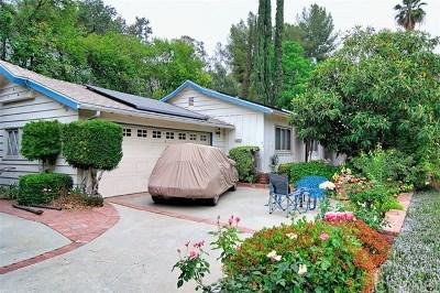 Woodland Hills Single Family Home For Sale: 20955 De Mina Street