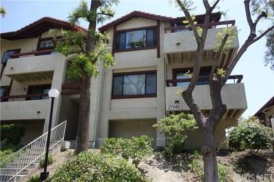 Santa Clarita, Newhall, Saugus, Valencia, Canyon Country Condo/Townhouse For Sale: 27940 Tyler Lane #453