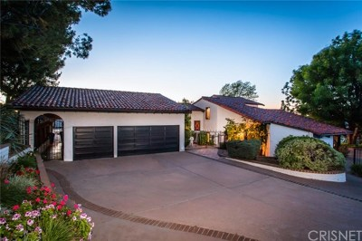 Calabasas Single Family Home For Sale: 23925 Park Belmonte