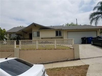 Sylmar Single Family Home For Sale: 14926 Bleeker Street