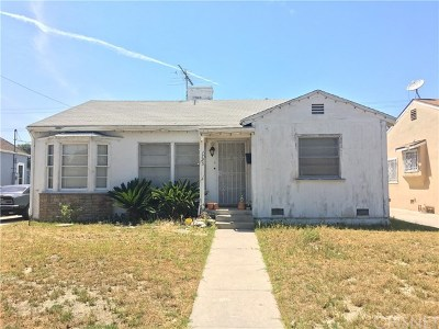 Burbank Single Family Home For Sale: 1725 N Fairview Street