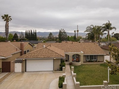 Simi Valley Single Family Home For Sale: 2506 E Alden Street