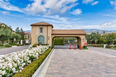 Porter Ranch Condo/Townhouse For Sale: 20338 Paseo Los Arcos