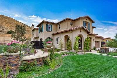 Simi Valley Single Family Home For Sale: 4589 Cottonwood Drive