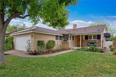 Valley Glen Single Family Home For Sale: 6200 Van Noord Avenue