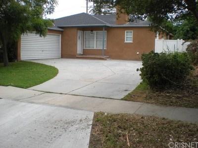Reseda Single Family Home For Sale: 6653 Belmar Avenue