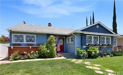 Tarzana Single Family Home Active Under Contract: 6248 Melvin Avenue