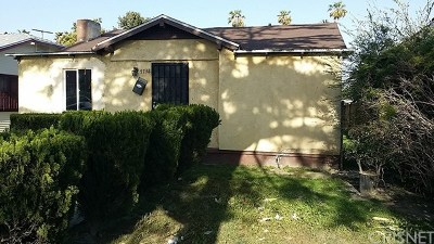 Los Angeles Single Family Home For Sale: 5738 Ruthelen Street