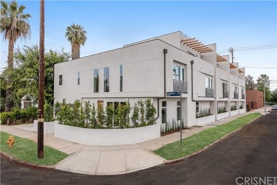 North Hollywood Single Family Home Active Under Contract: 11490 Cumpston Street