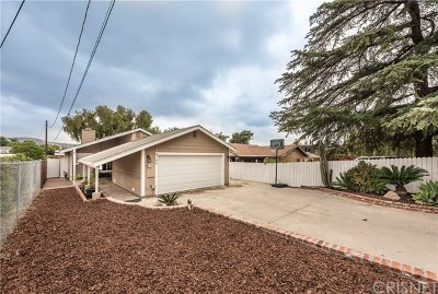 Simi Valley Single Family Home For Sale: 4766 Adam Road