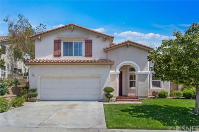 Newhall Single Family Home For Sale: 21209 Oakleaf Canyon Drive