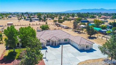 Palmdale Single Family Home For Sale: 40316 18th Street W